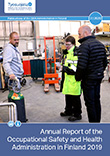 Cover of Annual Report of the Occupational Safety and Health Administration in Finland